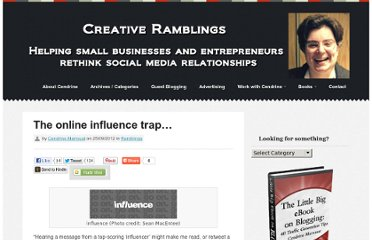http://www.creativeramblings.com/online-influence/