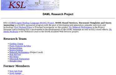 http://www-ksl.stanford.edu/projects/DAML/