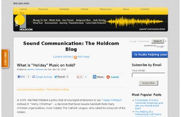 http://soundcommunication.holdcom.com/bid/51668/What-is-Holiday-Music-on-hold