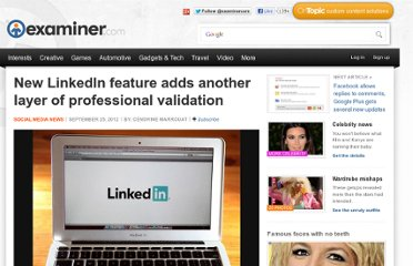 http://www.examiner.com/article/new-linkedin-feature-adds-another-layer-of-professional-validation