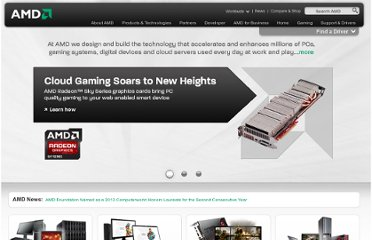 http://www.amd.com/us/Pages/AMDHomePage.aspx