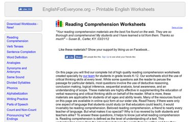 http://englishforeveryone.org/Topics/Reading-Comprehension.htm