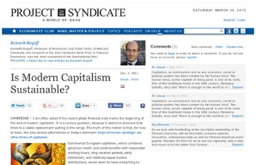 http://www.project-syndicate.org/commentary/is-modern-capitalism-sustainable