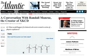 http://www.theatlantic.com/technology/archive/2012/09/a-conversation-with-randall-munroe-the-creator-of-xkcd/262851/