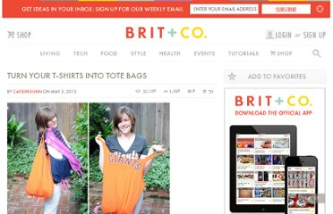 http://www.brit.co/turn-your-t-shirts-into-tote-bags/