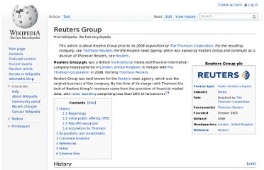 http://en.wikipedia.org/wiki/Reuters_Group
