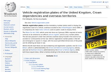 http://en.wikipedia.org/wiki/Vehicle_registration_plates_of_the_United_Kingdom,_Crown_dependencies_and_overseas_territories#Local_memory_tags