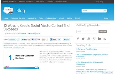 http://blogs.salesforce.com/company/2012/09/10-ways-to-create-social-media-content-that-succeeds.html