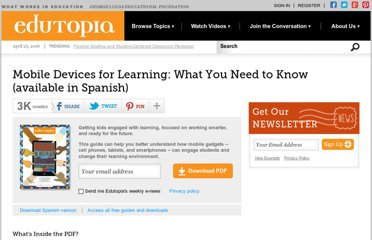 http://www.edutopia.org/mobile-devices-learning-resource-guide