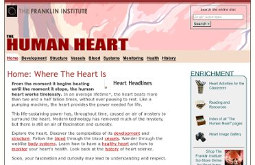 http://www.fi.edu/learn/heart/index.html