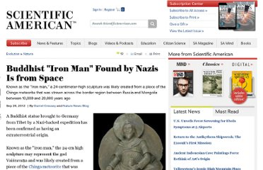 http://www.scientificamerican.com/article.cfm?id=buddhist-iron-man-found