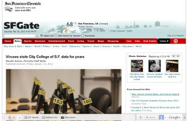 http://www.sfgate.com/education/article/Viruses-stole-City-College-of-S-F-data-for-years-2502338.php