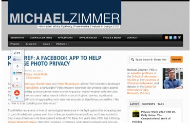 http://www.michaelzimmer.org/2011/03/21/postpref-a-facebook-app-to-help-manage-photo-privacy/