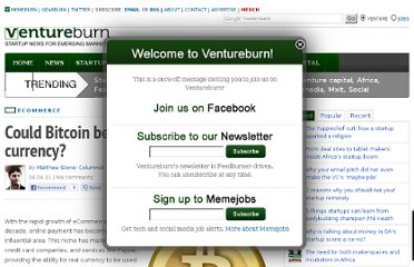 http://ventureburn.com/2011/04/could-bitcoin-be-the-global-online-currency/