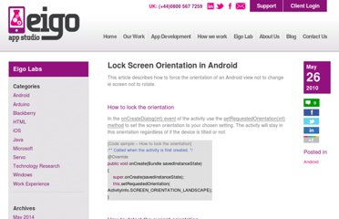http://www.eigo.co.uk/labs/lock-screen-orientation-in-android/