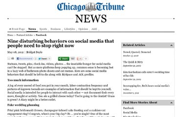 http://articles.chicagotribune.com/2012-05-08/news/ct-talk-doyle-social-media-0508-20120508_1_social-media-fake-wedding-twitter