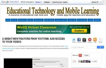 http://www.educatorstechnology.com/2012/09/add-quizzes-to-youtube-videos.html