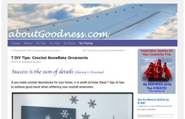 http://aboutgoodness.com/7-diy-tips-crochet-snowflake-ornaments/