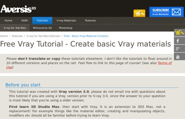 http://www.aversis.be/tutorials/vray/vray-20-basic-materials.htm