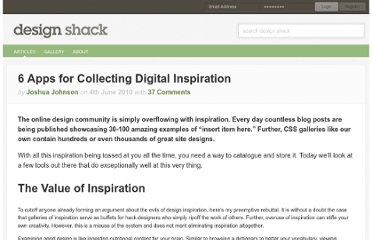 http://designshack.net/articles/inspiration/6-apps-for-collecting-digital-inspiration/