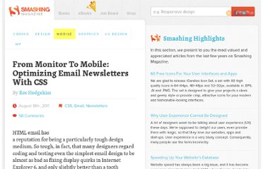 http://mobile.smashingmagazine.com/2011/08/18/from-monitor-to-mobile-optimizing-email-newsletters-with-css/