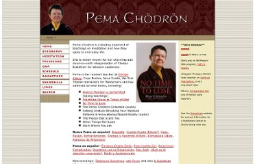 http://www.shambhala.org/teachers/pema/index.php