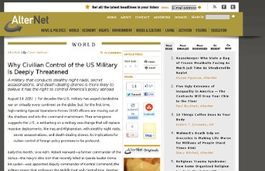 http://www.alternet.org/story/152101/why_civilian_control_of_the_us_military_is_deeply_threatened