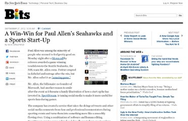 http://bits.blogs.nytimes.com/2012/09/27/a-win-win-for-paul-allens-seahawks-and-a-sports-start-up/