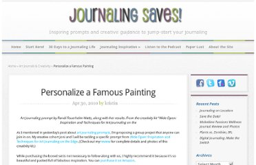 http://www.journalingsaves.com/art-journal-prompt-famous-painting/