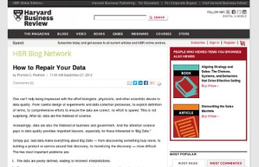 http://blogs.hbr.org/cs/2012/09/how_to_repair_your_data.html