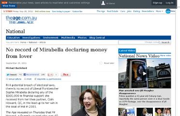 http://www.theage.com.au/national/no-record-of-mirabella-declaring-money-from-lover-20110924-1kqw3.html