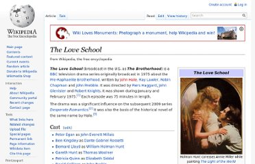 http://en.wikipedia.org/wiki/The_Love_School