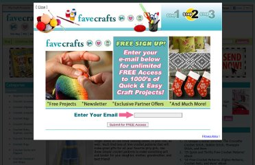 http://www.favecrafts.com/Crochet/23-Free-Flower-Crochet-Patterns-and-Other-Girly-Crochet-Projects#