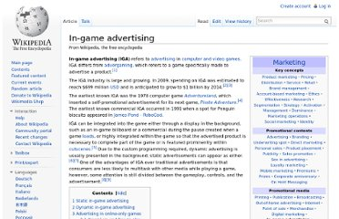 http://en.wikipedia.org/wiki/In-game_advertising