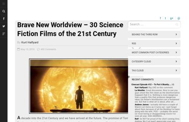 http://www.rowthree.com/2010/05/10/brave-new-worldview-30-science-fiction-films-of-the-21st-century/