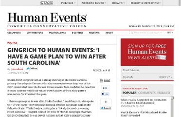 http://www.humanevents.com/2012/01/18/gingrich-to-human-events-i-have-a-game-plan-to-win-after-south-carolina/