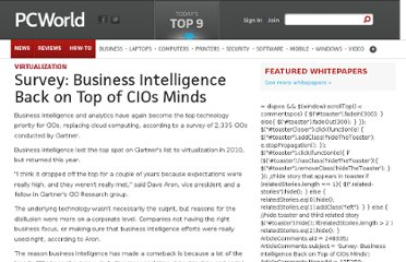 http://www.pcworld.com/article/248335/survey_business_intelligence_back_on_top_of_cios_minds.html