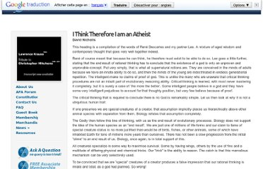 http://atheistfoundation.org.au/article/i-think-therefore-i-am-atheist/