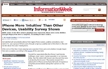 http://www.informationweek.com/iphone-more-intuitive-than-other-devices/201001348