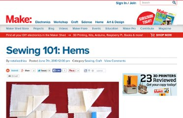 http://makezine.com/craft/101/sewing101_hems/