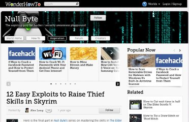 http://null-byte.wonderhowto.com/inspiration/12-easy-exploits-raise-thief-skills-skyrim-0131676/
