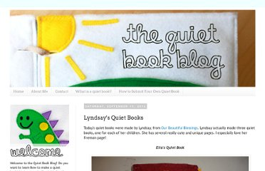 http://quietbookblog.blogspot.com/2012/09/lyndsays-quiet-book.html