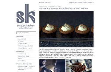 http://smittenkitchen.com/blog/2010/02/chocolate-souffle-cupcakes-with-mint-cream/