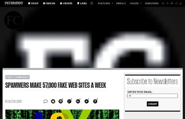 http://www.fastcompany.com/1687988/spammers-make-57000-fake-web-sites-week