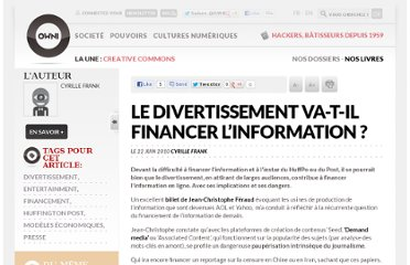 http://owni.fr/2010/06/22/le-divertissement-va-t-il-financer-linformation/