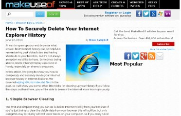http://www.makeuseof.com/tag/completely-securely-delete-internet-explorer-history/