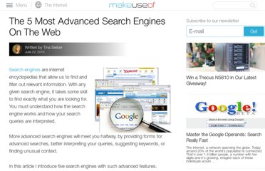 http://www.makeuseof.com/tag/5-advanced-search-engines-web/