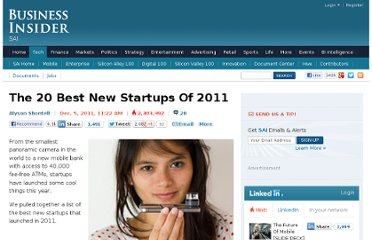 http://www.businessinsider.com/20-best-startups-technology-inventions-2011-12?op=1#simple-wants-to-get-rid-of-bank-fees-altogether-and-become-a-whole-new-mobile-bank-1