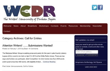http://www.wcdr.org/wcdr/category/call-for-entries/