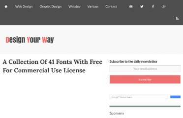 http://www.designresourcebox.com/a-collection-of-41-fonts-with-free-for-commercial-use-license/
